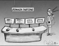 Domain Tasting