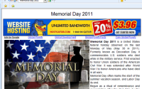 Memorial Day 2011 Exact Match Domain Absurdity