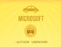 If Microsoft Built Cars [Infographic]
