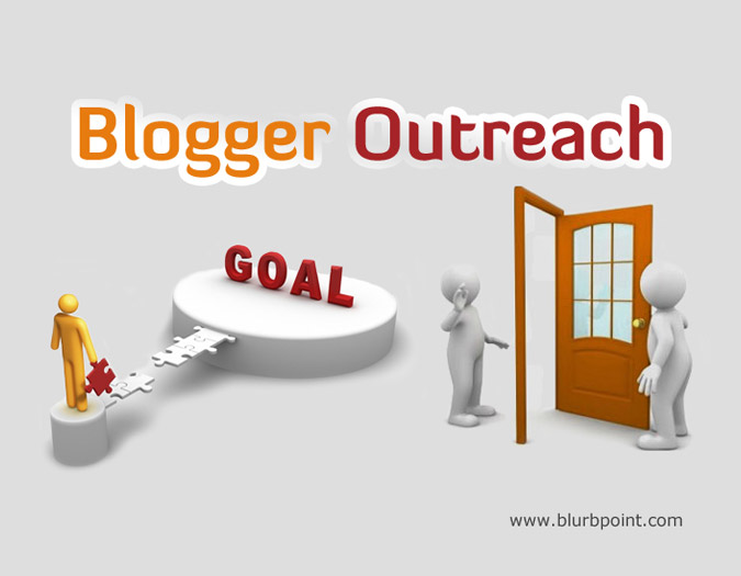Blogger Outreach Diagram