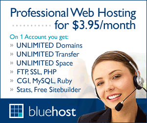 BlueHost $3.95 Exclusive Offer