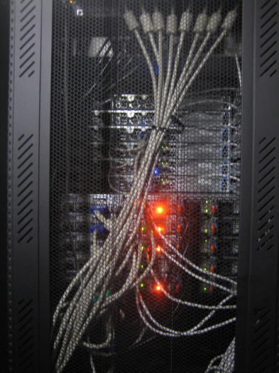 Data Center Racks - Back
