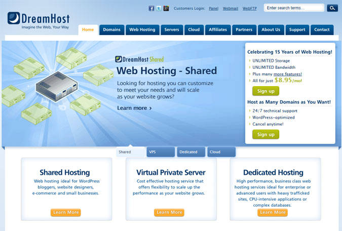 DreamHost Website