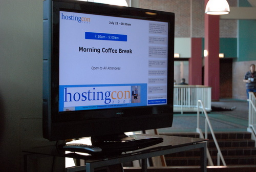 HostingCon Screen