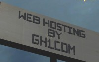 In-game Advertising: GH1 Web Hosting