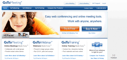 GoToMeeting is simply a service that gets things done.