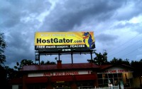 HostGator Billboard spotted in Atlanta