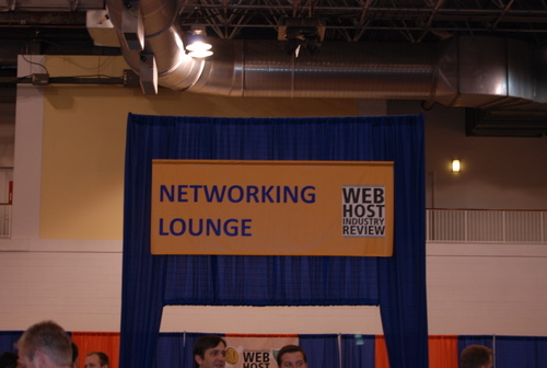 WHIR Networking Lounge
