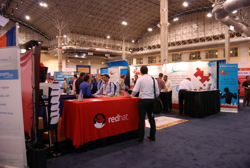 Red Hat Booth