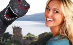 HostMonster and Female Model at Loch Ness