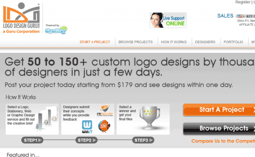 A Logo Design Guru review with a 'tude.