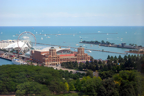 Navy Pier, Chicago HostingCon 2007