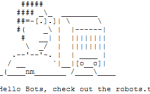 Robots.txt - Hello Bots!