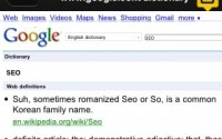SEO Definitions from the Google Dictionary