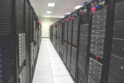 The Planet Hosting Datacenter in Houston Texas