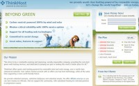 ThinkHost: Green Web Hosting for the Cerebral